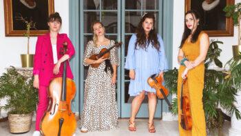 Saturday 16 October 2021The Behn String Quartet