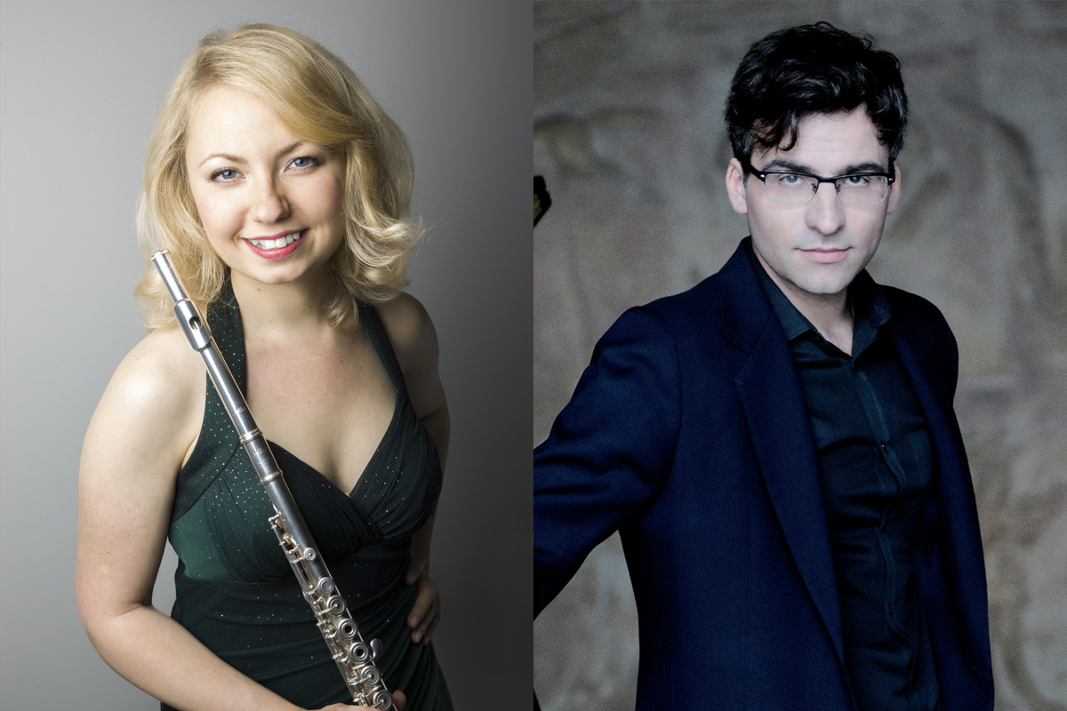 Saturday 3rd February 2018 Alena Walentin (flute)Pavel Timofeyevsky(piano)
