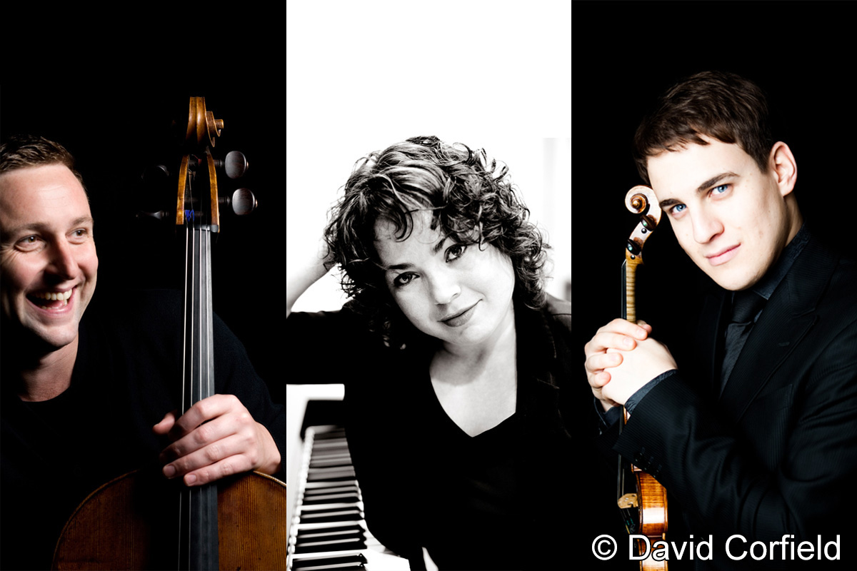 Saturday 17th February 2018Jack Liebeck (violin)Jamie Walton (cello)Katya Apekisheva (piano)
